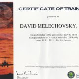 faa certificate of training