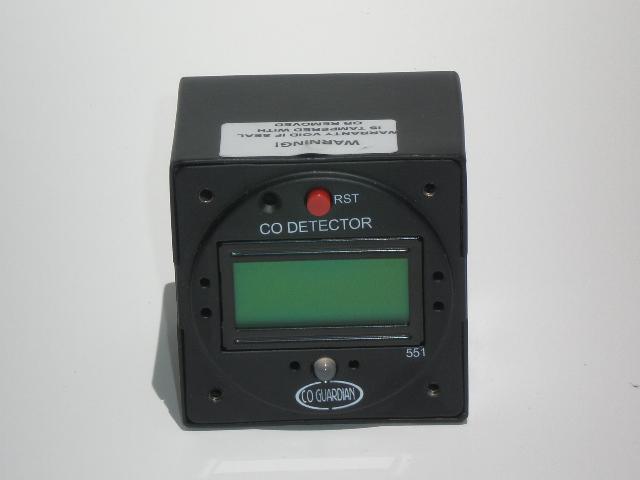 Elektronický detektor oxidu uhelnatého